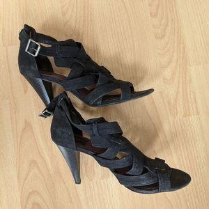 ZARA Strappy Back Heel Sandals 40
